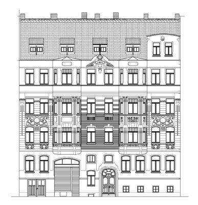 Abbildung: MFH Oststraße 6, Leipzig