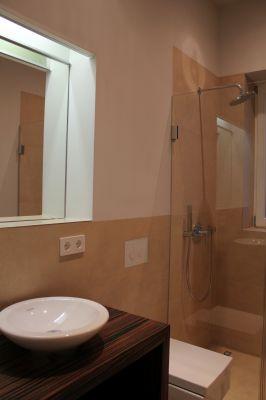 Abbildung: Gäste-WC mit Dusche
