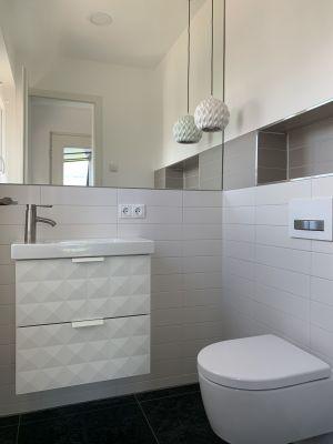 Abbildung: das Gäste-WC - très chic
