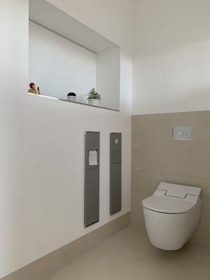 Abbildung: zeitgemäße Sanitärmöblierung